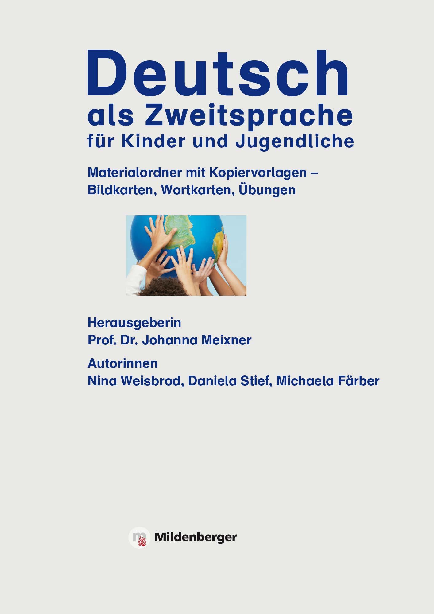 Deutsch als Zweitsprache für Kinder und Jugendliche 2